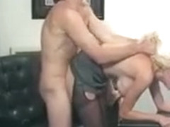 Blonde Candy Appels Gets Pumped By A Big Dick And Gets It In The Ass