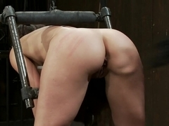 Bent Over a Post and Fucked