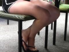 Candid feet #18