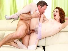 Emma Evins & John Strong in Bush League #04, Scene #03