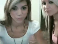 Lesbians showing their love on cam