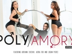 Adriana Chechik & Aidra Fox & Logan Pierce in Polyamory, Episode 2 Video