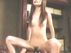 Horny Japanese chick Yui Igawa in Crazy Cunnilingus, Small Tits JAV movie