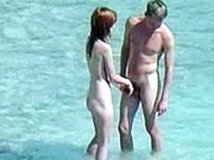 Sunny spycam beach