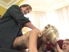 Incredible pornstar Molly Rae in Amazing Stockings, Blonde porn scene