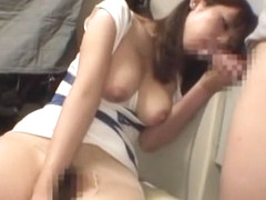 Horny Japanese chick in Incredible Dildos/Toys JAV movie
