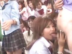 Horny Japanese chick Ayaka Kasagi, Ren Hitomi in Best Facial, Teens JAV scene