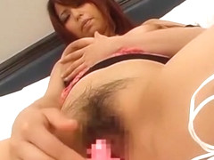 Horny Japanese model Nana Mochizuki in Incredible Big Tits JAV movie