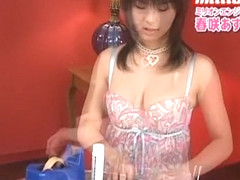 Crazy Japanese model Azumi Harusaki in Exotic Lingerie JAV scene
