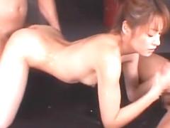 Fabulous Japanese chick Karen Kisaragi in Hottest Fingering, Massage JAV clip