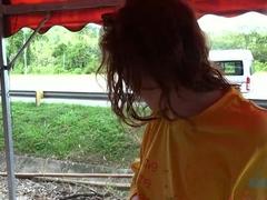Horny pornstar Emma Evins in Fabulous Redhead, POV porn clip