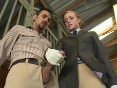Crazy pornstar in Incredible Handjobs, Facial adult clip