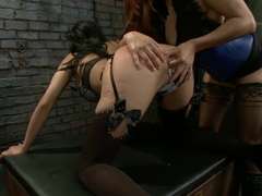 Hottest fetish, anal porn scene with amazing pornstars Beretta James, Francesca Le and Ramon Nomar from Everythingbutt
