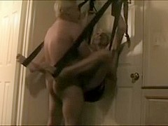Mature wife Sex Swing Toy
