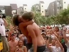 public nude teens party