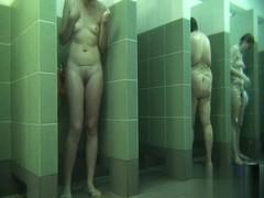 Hidden cameras in public pool showers 593