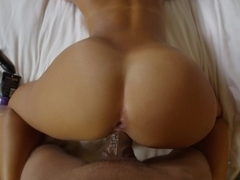 Young sweety gets fucked from behind
