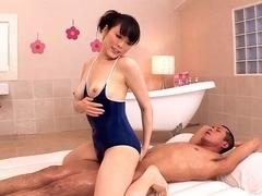 Crazy Japanese girl in Best JAV censored Cunnilingus, College movie