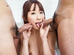 Exotic Japanese slut Yui Misaki in Horny JAV uncensored Blowjob clip