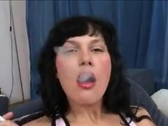 Brunette Smoking And Fucking