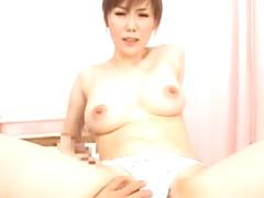 Amazing Japanese girl Mirei Kazuha, Shiori Hazuki in Exotic Nurse/Naasu JAV clip