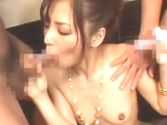 Fabulous Japanese model Mao Kaede in Exotic Facial, Threesomes JAV video