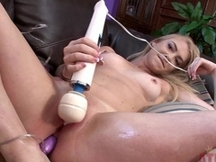 Fabulous pornstar in Hottest College, Blonde adult clip