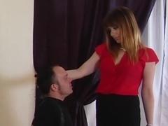 Best pornstar Jessica Ryan in amazing blowjob, blonde porn scene