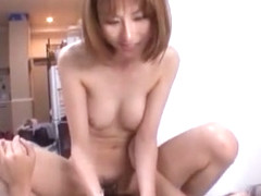 Horny Japanese girl Akari Asahina in Best JAV movie
