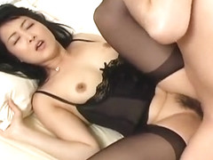 Crazy Japanese model in Horny Fishnet, Blowjob/Fera JAV movie