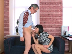 Fabulous pornstars in Incredible College, Brunette adult movie
