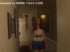 Horny pornstar Krissy Lynn in fabulous big tits, facial porn movie