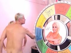 Hottest pornstar Maggie Green in exotic big tits, blonde adult clip