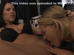 Horny pornstars Krissy Lynn and Kendra Secrets in fabulous facial, blonde xxx movie