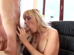 Best pornstar Nataly D'Angelo in incredible lingerie, facial sex clip