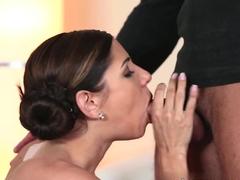 Fabulous pornstar in Hottest Lesbian, Brunette sex movie