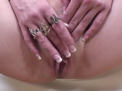 Hottest pornstar Anita Blue in amazing dildos/toys, blonde sex clip