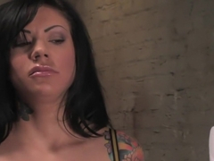 Crazy bdsm, lesbian sex movie with best pornstars Maitresse Madeline Marlowe and Mason Moore from .