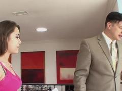 Amazing pornstar Mika Sparx in hottest blowjob, cumshots porn scene