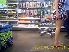 exibicionismo no supermercado
