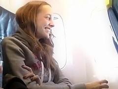 Lascivious spouse on the plane