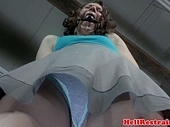 Tiedup sub pounded by black maledom