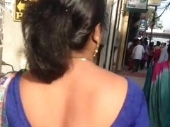 big ass marwadi aunty walking