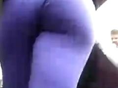 Big Butt In Tight Leggings