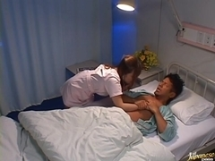 Rei Aoi Hot Asian nurse is wild