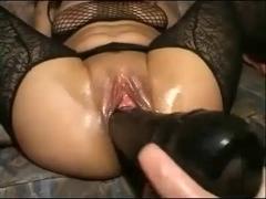 Outlandish Toying & Fisting Sexy Dark Brown