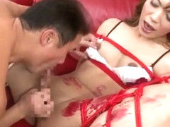 Amazing Japanese model in Horny Guy Fucks, Blowjob JAV scene