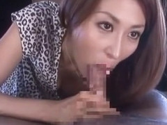 Crazy Japanese slut Akari Asahina in Best Handjob, Big Tits JAV clip