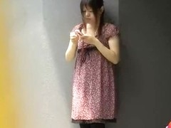 Sweet Japanese tramp gets her skirt ripped in public by some lad