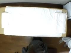 Hidden camera massage video of hot Jap gal getting fingered